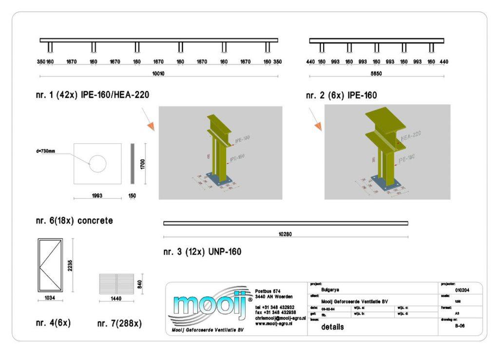 3d bouwkundig tekenwerk ventilatie units details