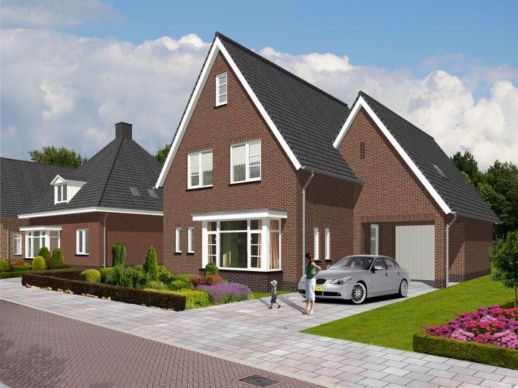 voorbeeld 3d visualisatie exterieur huis nieuwbouw